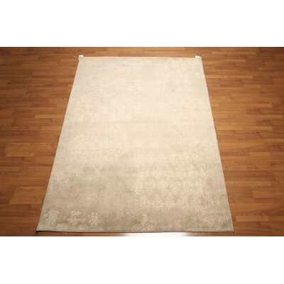 One-of-a-Kind Greenock Wool Beige/Taupe Area Rug