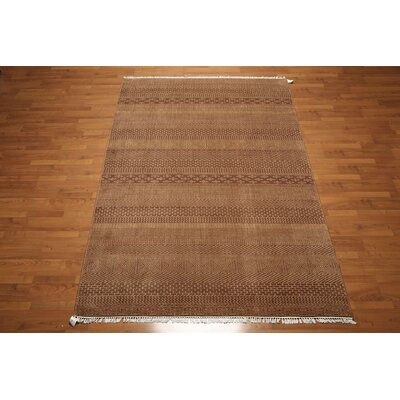 One-of-a-Kind Richmond Valley Wool Brown Area Rug