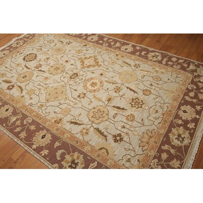 One-of-a-Kind Hameldon Hand-Knotted Gray/Brown Area Rug