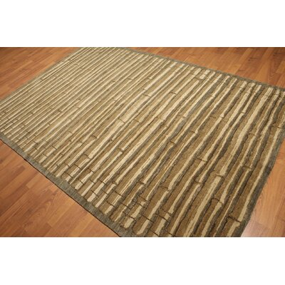 One-of-a-Kind Kist Hand-Knotted Wool Beige/Tan Area Rug