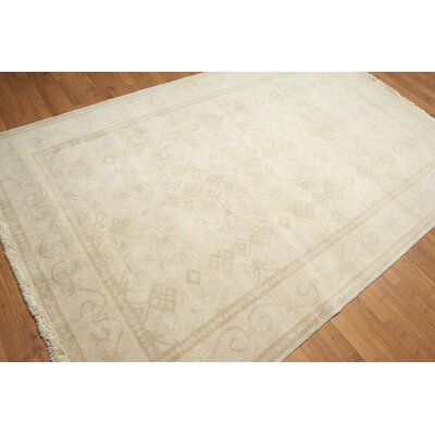 One-of-a-Kind Griton Wool Beige/Gray Area Rug