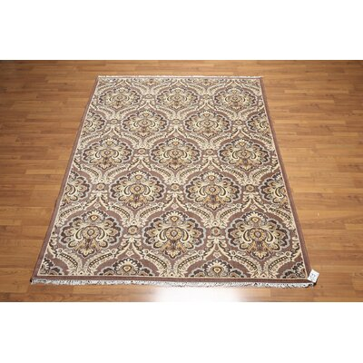 One-of-a-Kind Ratner Wool Brown/Beige Area Rug