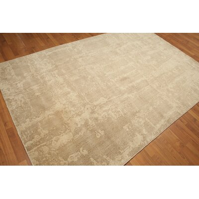 One-of-a-Kind Gresham Wool Beige/Light Brown Area Rug