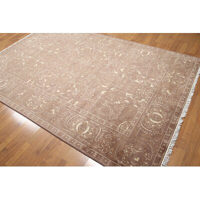 One-of-a-Kind Griffin Wool Taupe/Beige Area Rug