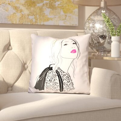 Binette the Claire Throw Pillow
