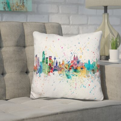 Jarosz Liverpool England Throw Pillow