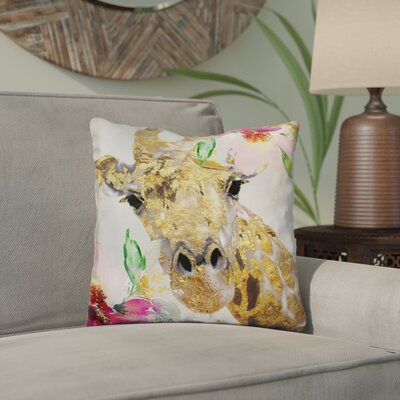 Chittening April Throw Pillow