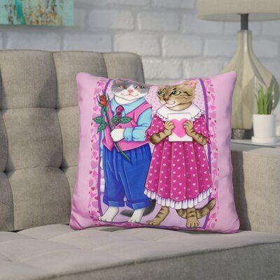 Core Cat Lovers Throw Pillow