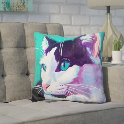 Core Cat Throw Pillow