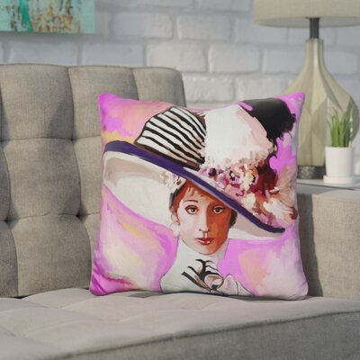 Corlett Audrey Hepburn My Fair Lady Throw Pillow