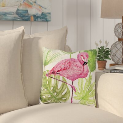 Winnwood Tropical Flamingo Throw Pillow