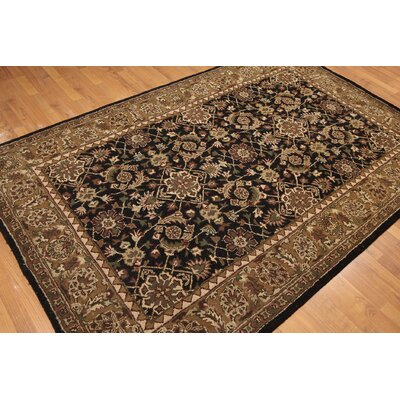 One-of-a-Kind Rehberg Hand-Knotted Wool Brown/Black Area Rug