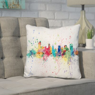 Jara Memphis Tennessee Throw Pillow