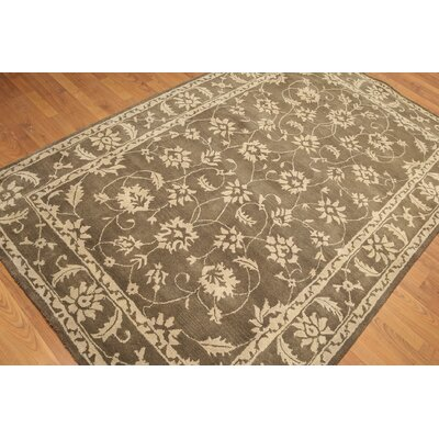 One-of-a-Kind Reichel Hand-Knotted Wool Tan/Beige Area Rug