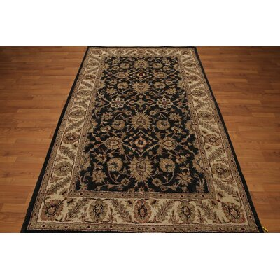 One-of-a-Kind Reith Hand-Tufted Wool Black/Beige Area Rug