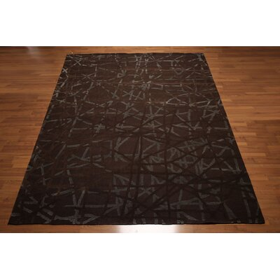 One-of-a-Kind Lore Hand-Knotted Tone Brown/Gray Area Rug