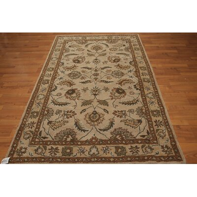 One-of-a-Kind Dilworth Hand-Tufted Wool Tan/Brown Area Rug