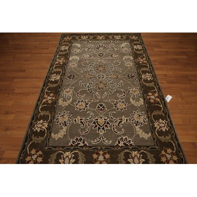 One-of-a-Kind Dimarco Hand-Tufted Wool Gray/Brown Area Rug