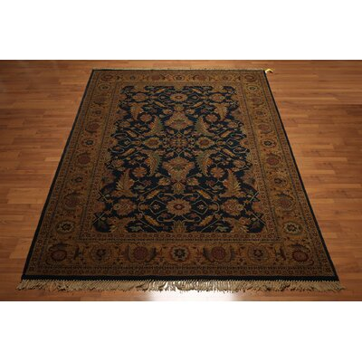 One-of-a-Kind Rangeworthy Wool Blue/Beige Area Rug