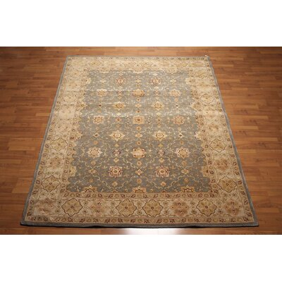 One-of-a-Kind Renshaw Hand-Knotted Wool Gray/Beige Area Rug