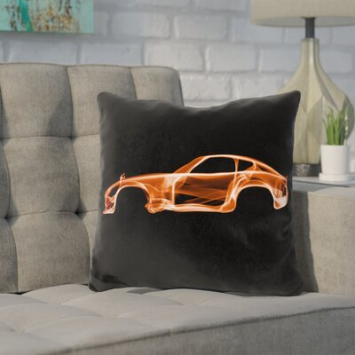 Kennett Datsun Throw Pillow