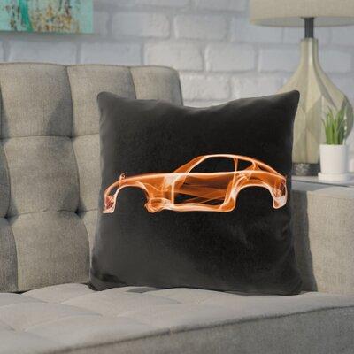 Kennett Datsun Throw Pillow