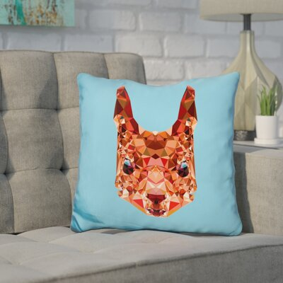 Corker Squirrel Throw Pillow