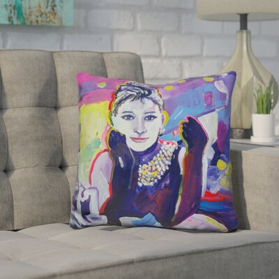 Corlett Audrey Hepburn Throw Pillow