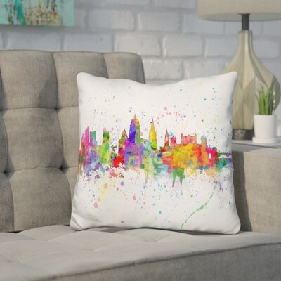 Jarrell Nottingham England Throw Pillow