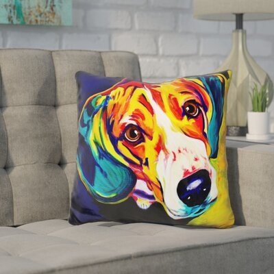Coria Beagle Bailey Throw Pillow