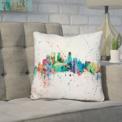 Jaramillo Minneapolis Minnesota Throw Pillow