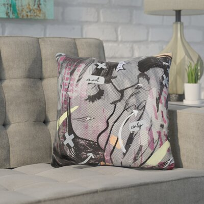 Harmonia and Only Throw Pillow