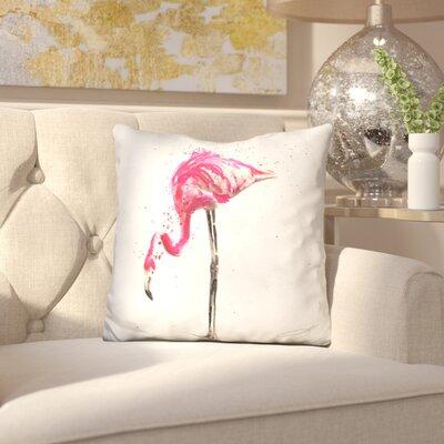 Elosie Flamingo Throw Pillow