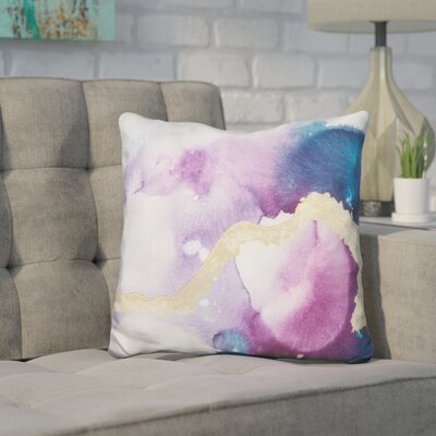 Harrill Ice Crystals Throw Pillow
