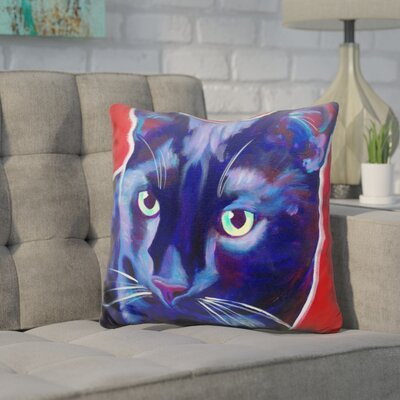 Core Cat Caleb Throw Pillow