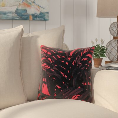 Harcrest Tropical Leaf Throw Pillow