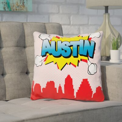 Corl Austin Throw Pillow