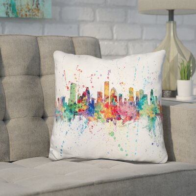 Harney Houston Texas Throw Pillow