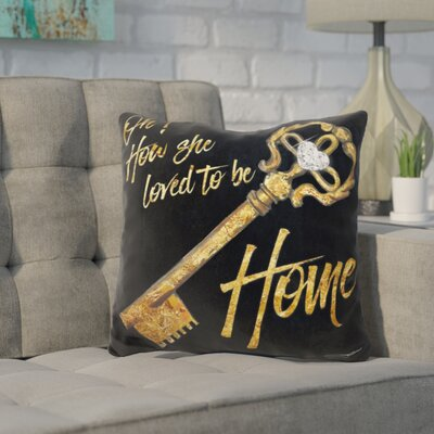 Kapp Loved to Be Home Throw Pillow
