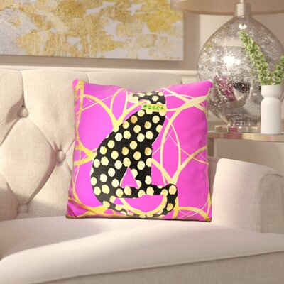 Blackshale Couture Cat Throw Pillow