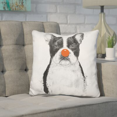 Hartwig Im Not Your Clown Throw Pillow