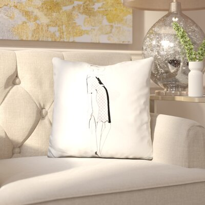 Emalie Grace Throw Pillow