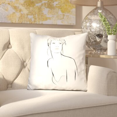 Isaacs Amor Throw Pillow