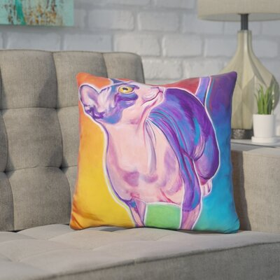 Core Cat Bree Throw Pillow