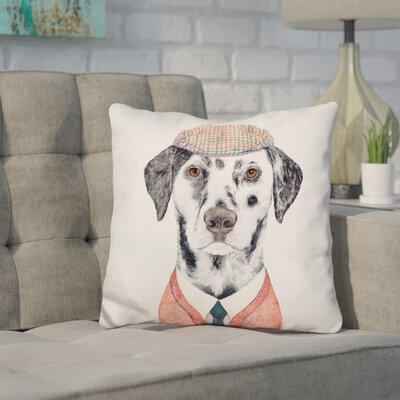 Jemison Dalmatian Throw Pillow