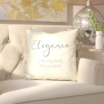 Thomaston Elegance Throw Pillow