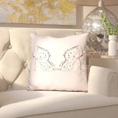 Bismark CS and Bows Throw Pillow