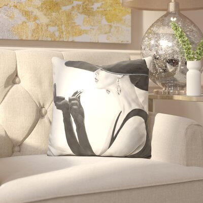 Jeanelle Haute Chapeau Throw Pillow