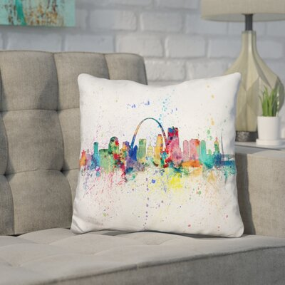 Jantzen St Louis Missouri Throw Pillow