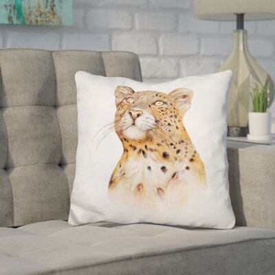 Hession Leopard Throw Pillow